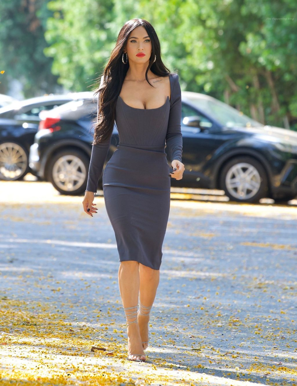Megan Fox Heads to Jimmy Kimmel Live in Los Angeles (66 Photos) [Updated]