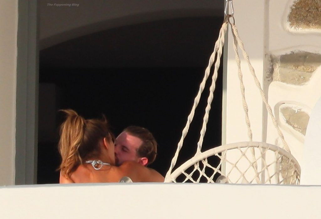 Montana Brown Puts on a Show For Mark O'Connor in the Hot Greek Sunshine in Mykonos (65 Photos)