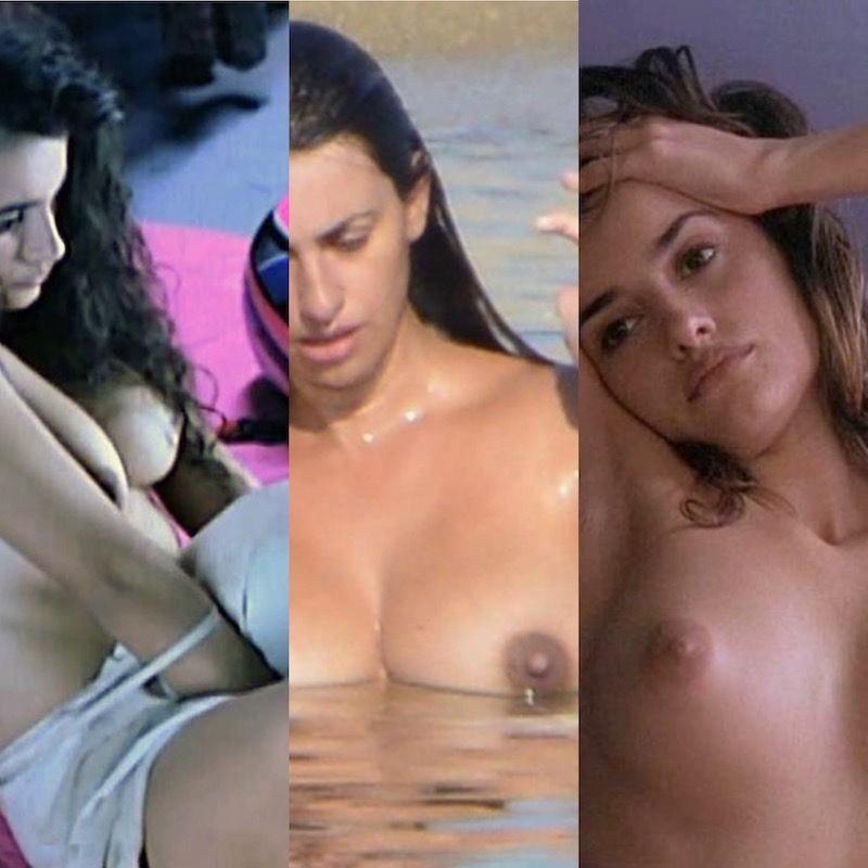 Penélope Cruz  nackt