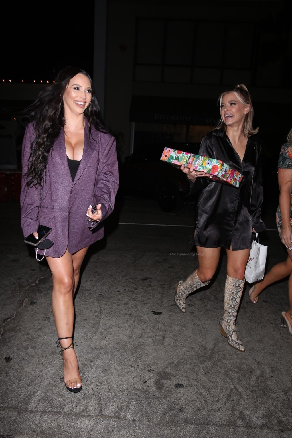 Busty Scheana Shay Heads to Dinner with Brock Davies at Craig's (55 Photos)