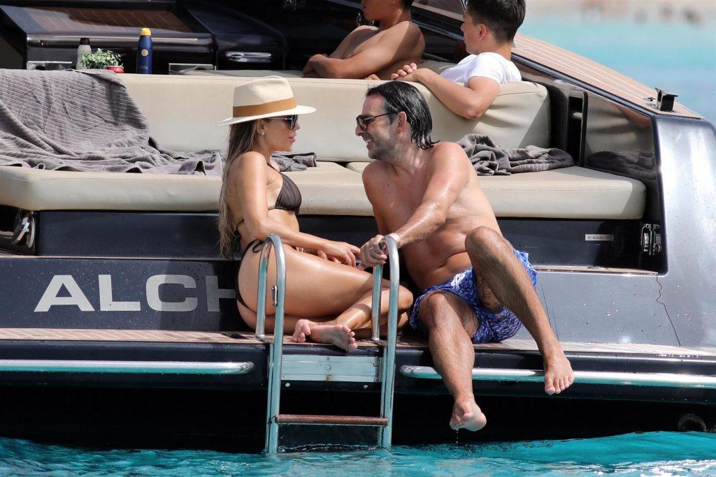 Sylvie Meis & Niclas Castello Soak Up the Sun in Formentera (38 Photos)