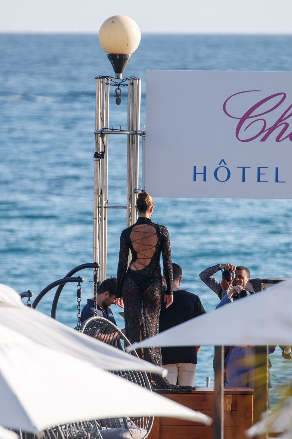 Taylor Hill Poses on a Photoshoot on a Boat in Cannes (73 Photos)