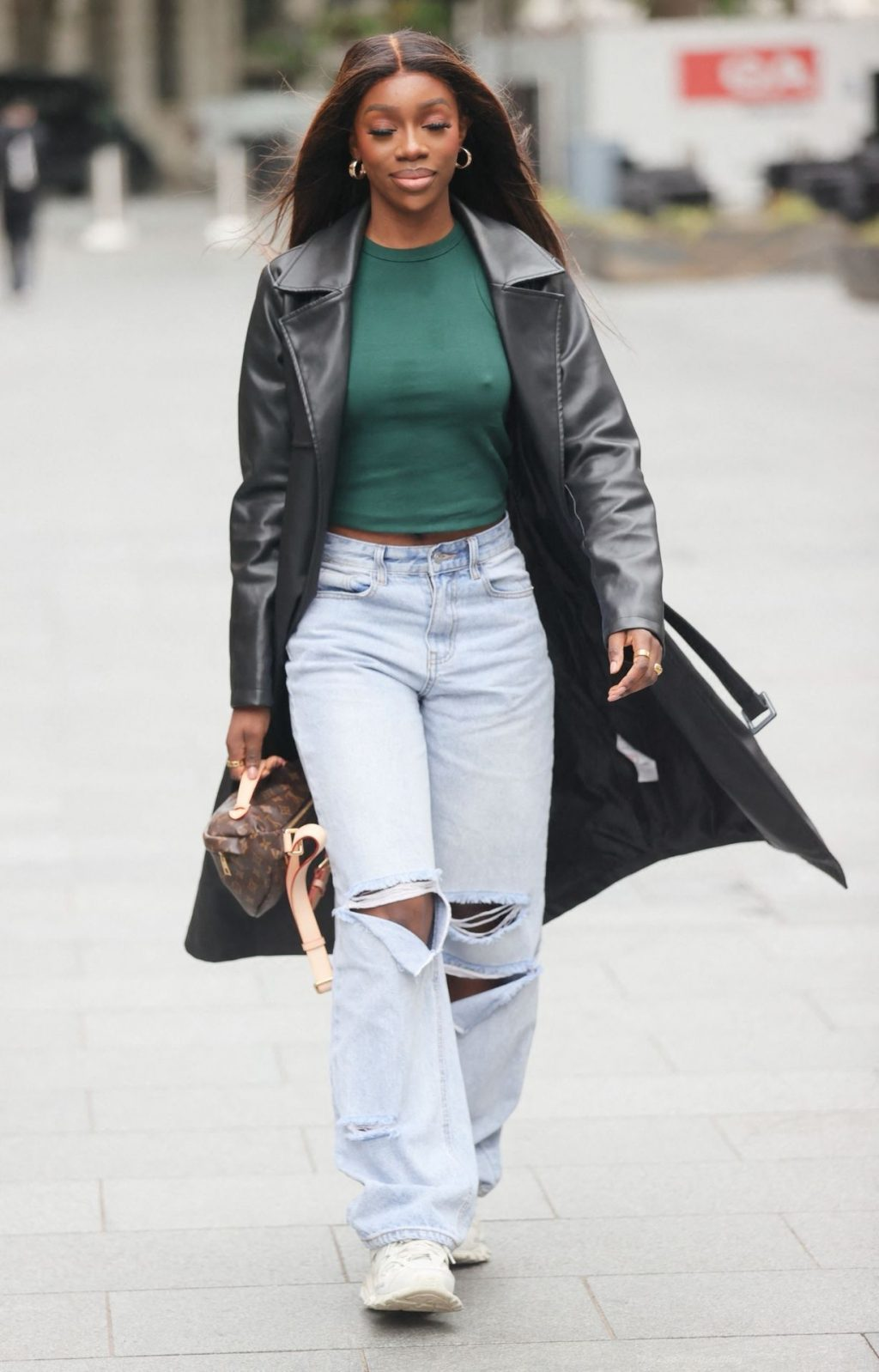 Yewande Biala Leaves Little To The Imagination As She Goes Braless in London (26 Photos)