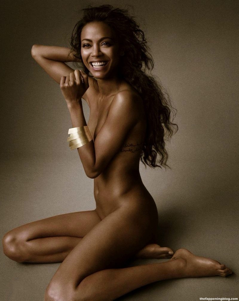 Zoe Saldana Nude & Sexy Collection (20 Photos)