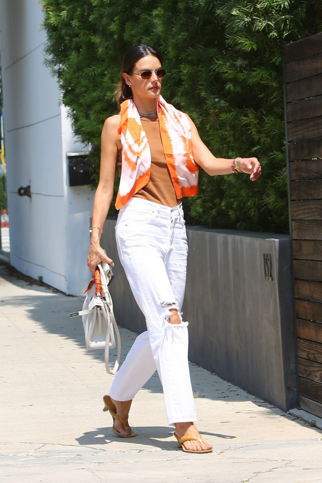 Alessandra Ambrosio is Seen Braless in Beverly Hills (44 Photos)