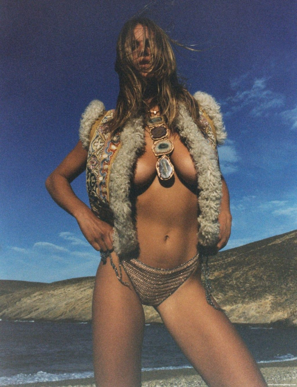 Anna Ewers Nude - Vogue Paris