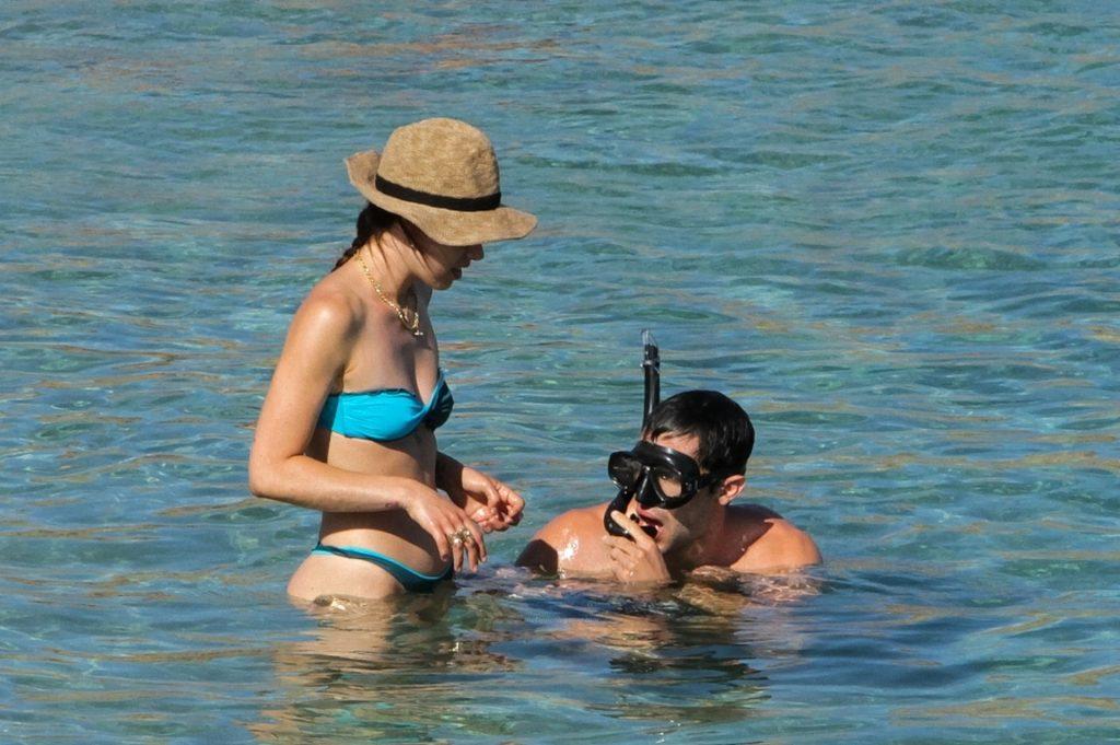 Aurora Ramazzotti is Seen in a Sexy Bikini at the Beach in Greece (48 Photos)