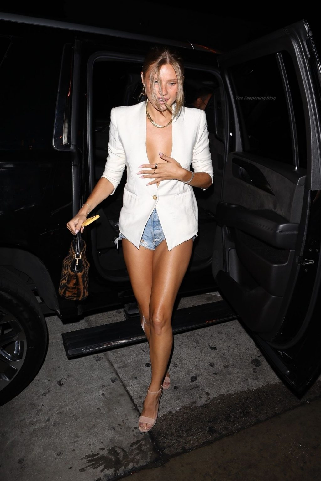 Leggy Josie Canseco Arrives at the Party (30 Photos)