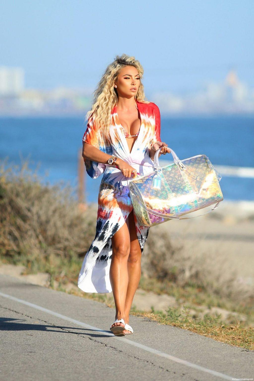 Khloe Terae Shows Off Her Sensational Body as She Hits the Beach in Santa Monica (47 Photos)