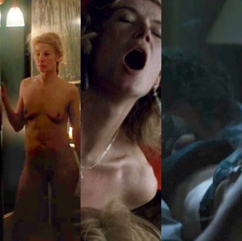 Rosamund Pike Nude & Sexy Collection (170 Photos + Sex Video Scenes) [Updated]