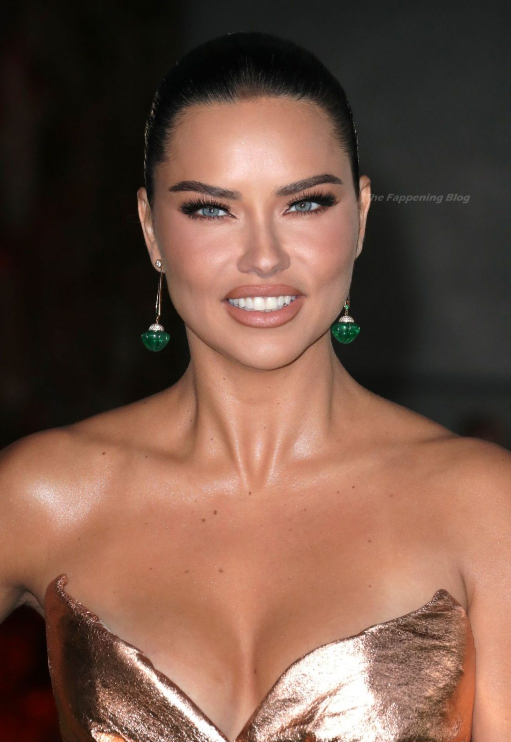 Adriana Lima Looks Beautiful at The Academy Museum of Motion Pictures Opening Gala in LA (15 Photos)