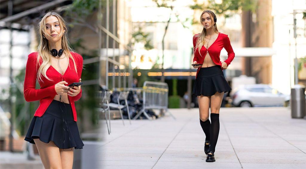Alexis Ren Looks Beautiful in New York (16 Photos)