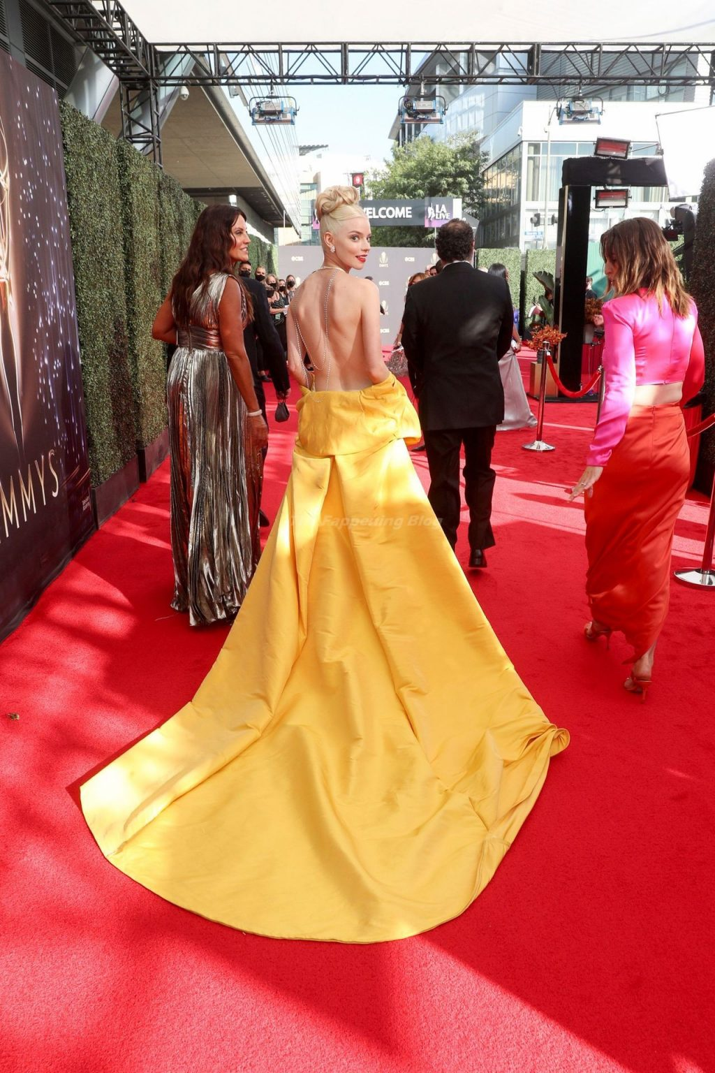 Anya Taylor-Joy Looks Beautiful at the 73rd Primetime Emmy Awards in Los Angeles (61 Photos)