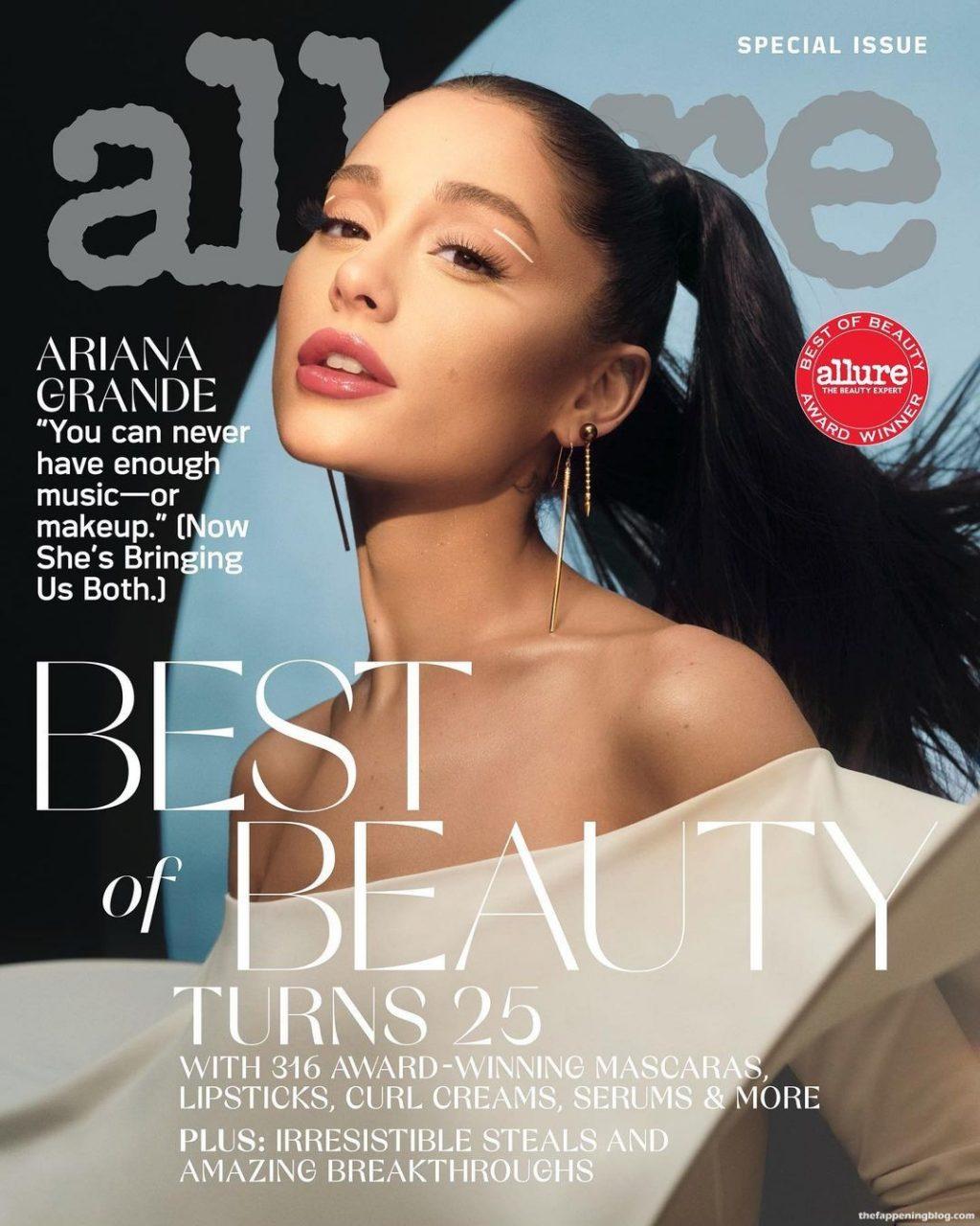 Ariana Grande Sexy – Allure Magazine (3 Photos)