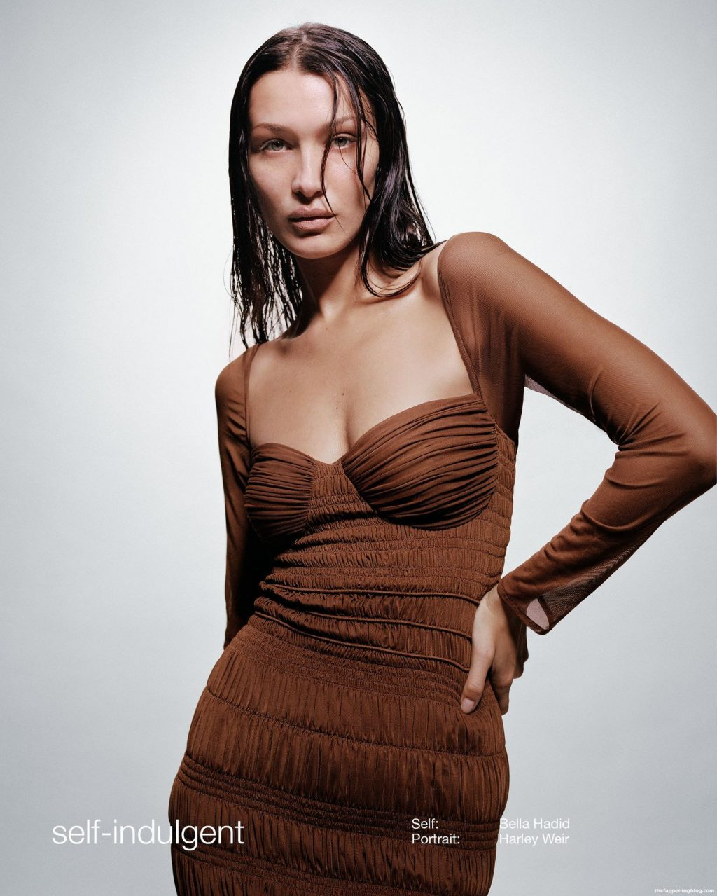 Bella Hadid Sexy – Self-Portrait Spring/Summer 2022 Collection (6 Photos)