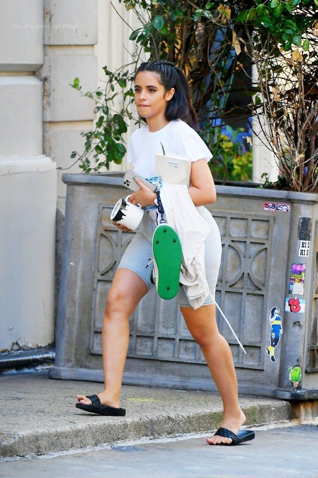 Leggy Camila Cabello Steps Out Carrying a Cool NIKE Shoe Handbag (11 Photos)