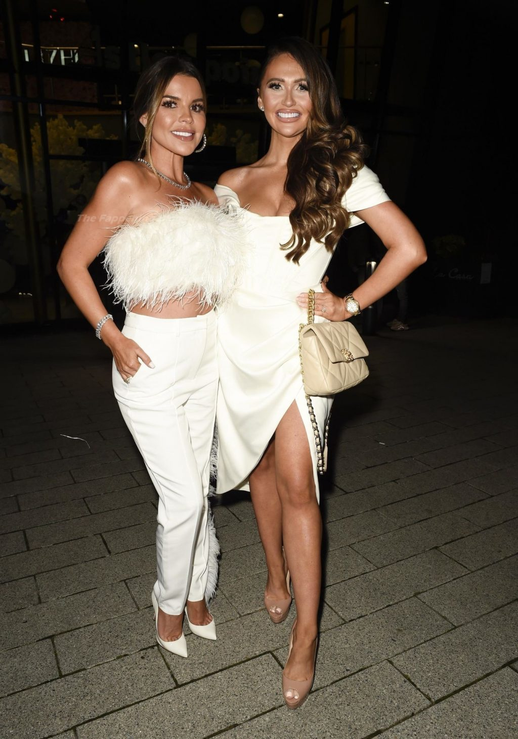 Leggy Charlotte Dawson Looks Hot While Arriving at Ryan Kay's Birthday Party in Manchester (13 Photos)