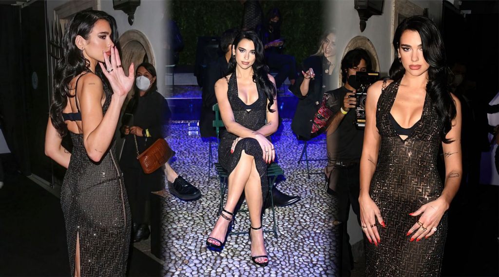 Dua Lipa Puts on a Sultry Display at the Versace-Fendi Fashion Show (110 Photos) [Updated]