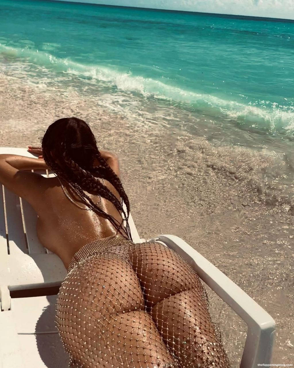 Demi Rose Topless (2 Photos)