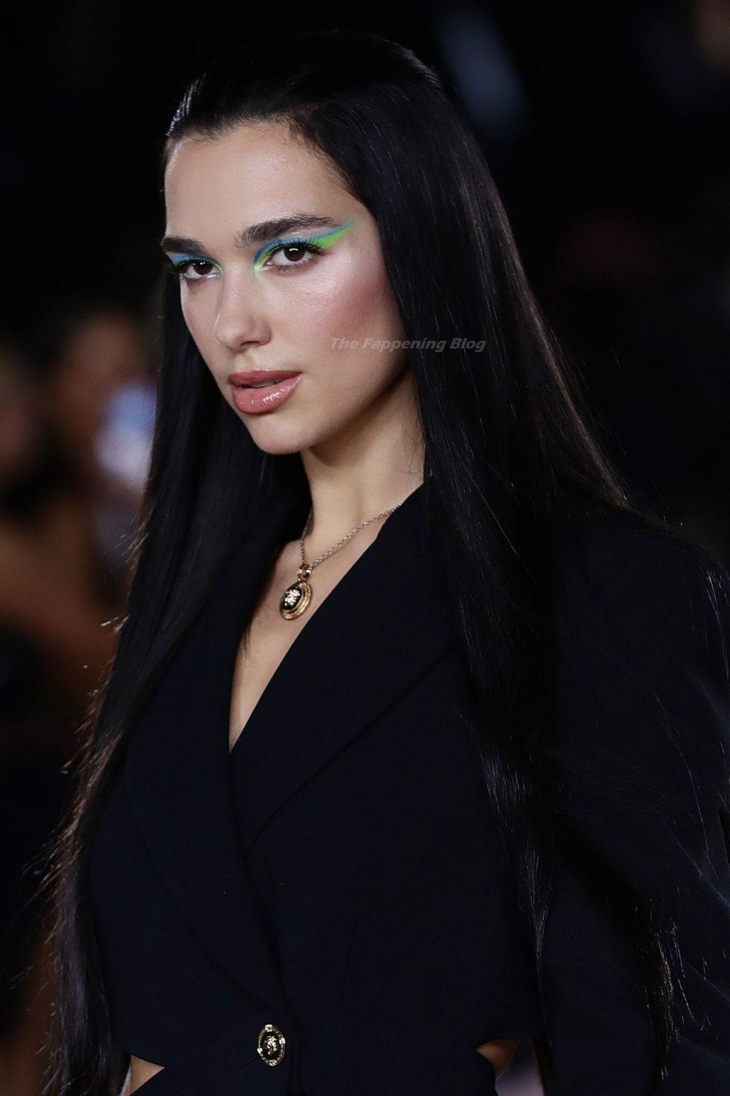 Dua Lipa Walks the Runway at the Versace Fashion Show (78 Photos)