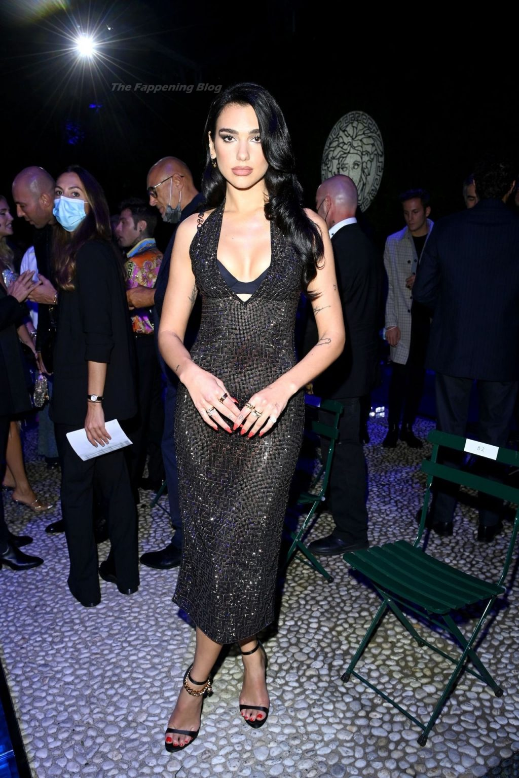 Dua Lipa Puts on a Sultry Display at the Versace-Fendi Fashion Show (108 Photos)