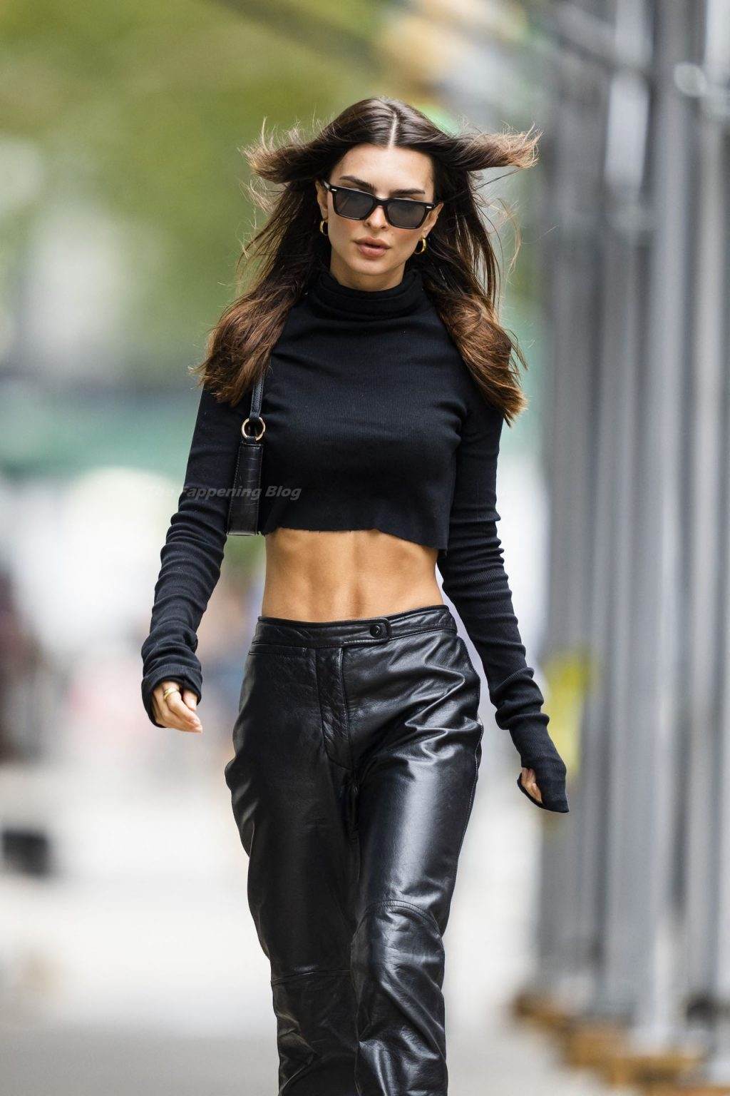 Emily Ratajkowski Shows Off Her Toned Abs While Out For A Stroll In NYC (48 Photos)