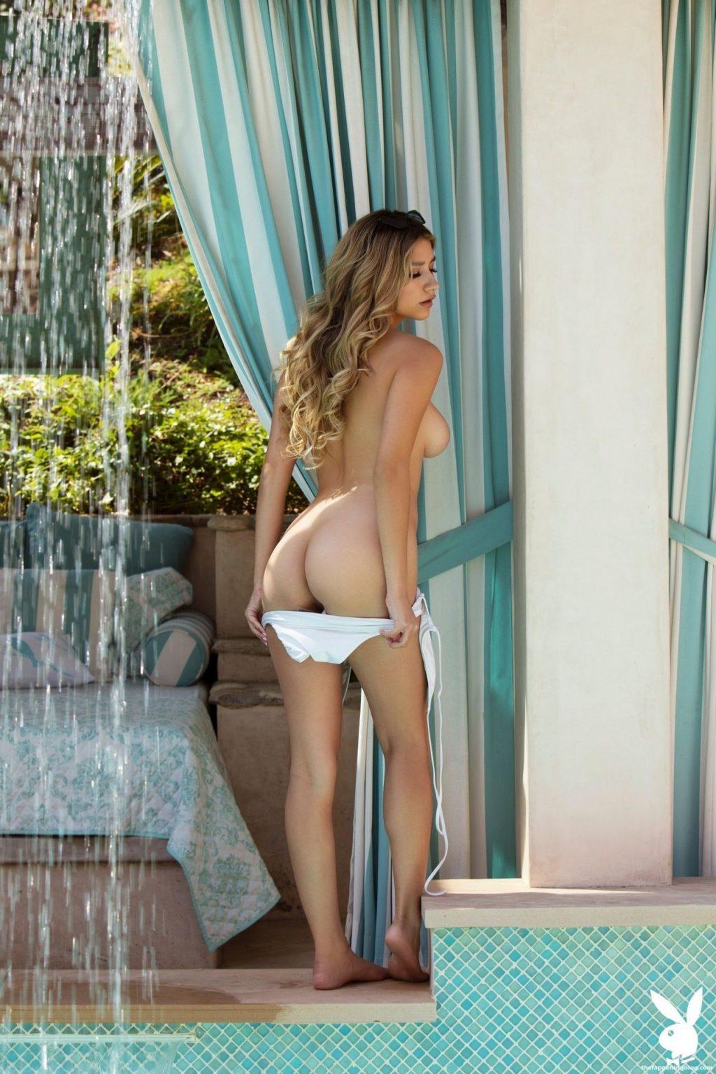 Gina Nude – Waterfall Oasis (25 Photos + Video)