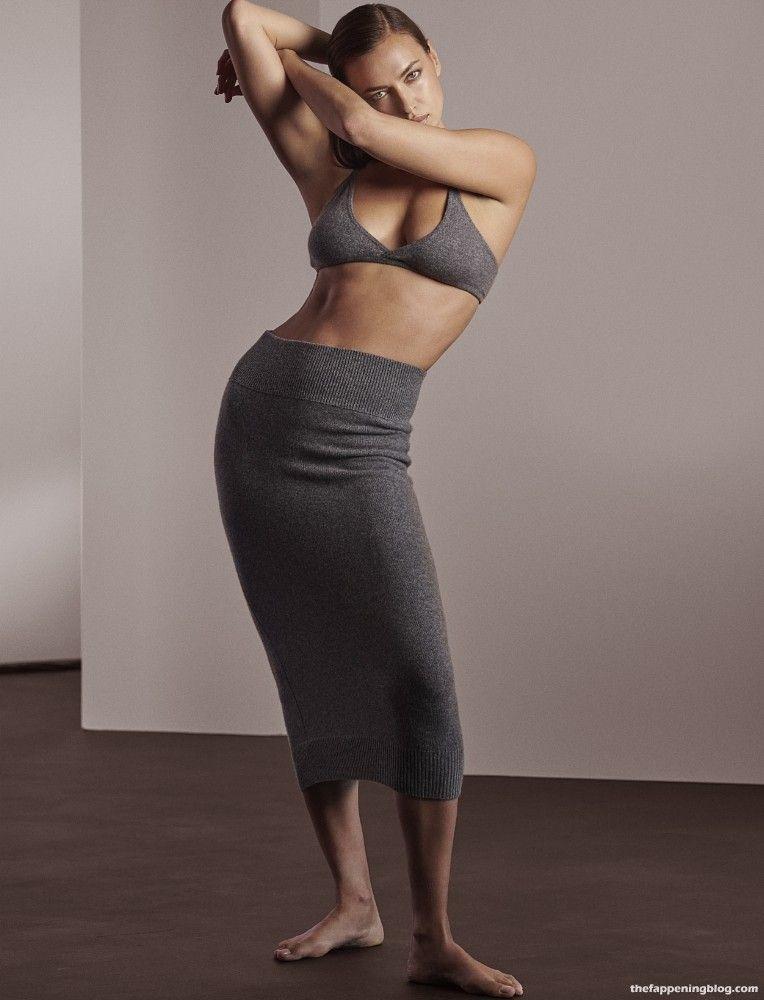 Irina Shayk Wows for Naked Cashmere (12 Photos)