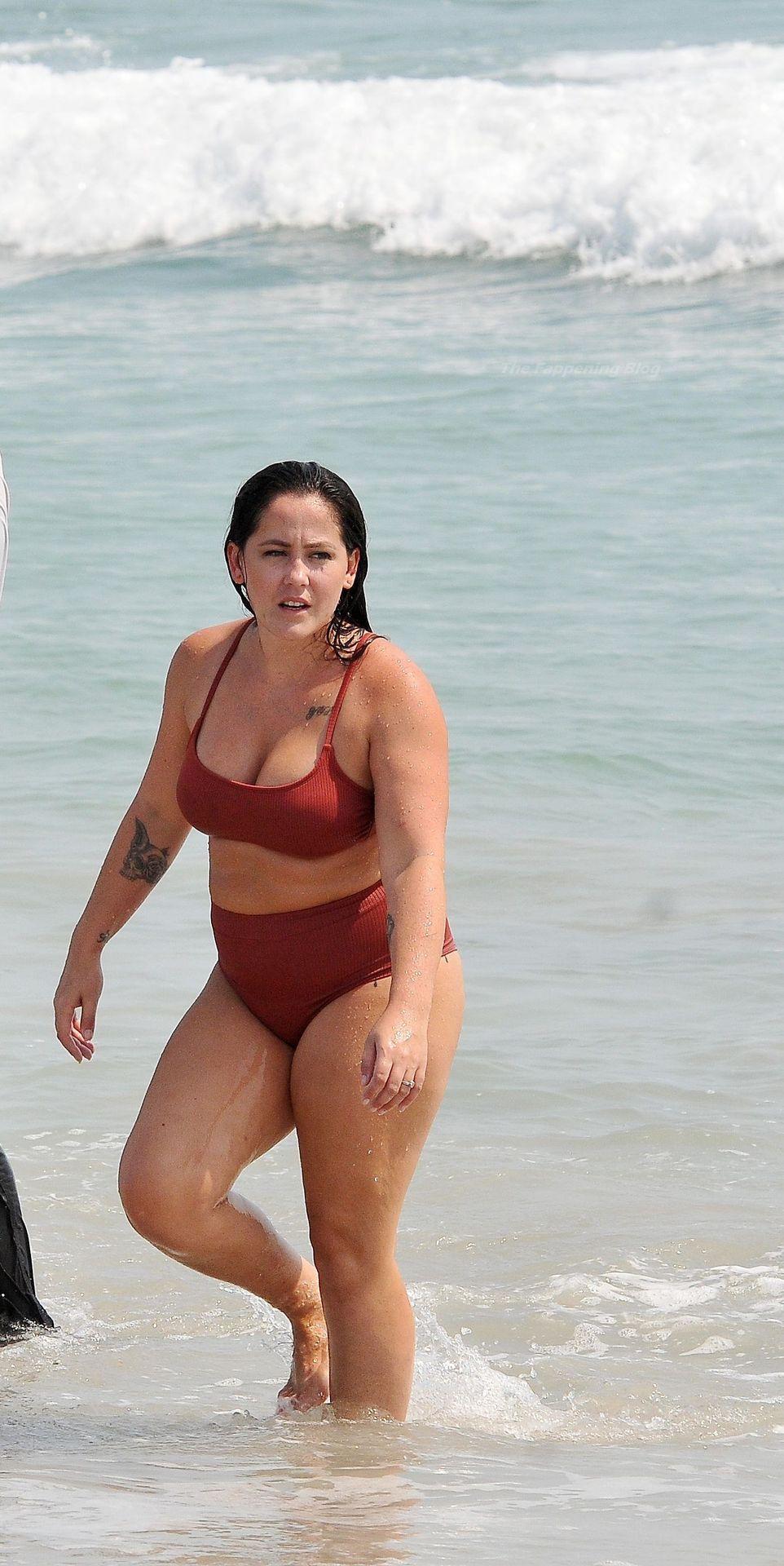 Jenelle Evans & David Eason Hit the Beach in North Carolina (100 Photos)