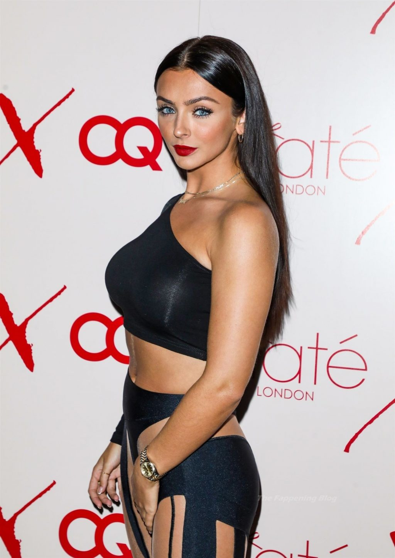 Kady McDermott Flaunts Her Curves at the Ciaté London x Christine Quinn Launch Event (11 Photos)