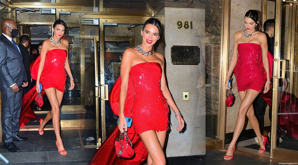 Kendall Jenner is All Smiles As She Leaves Her Hotel For the MET Gala After-Party (35 Photos)