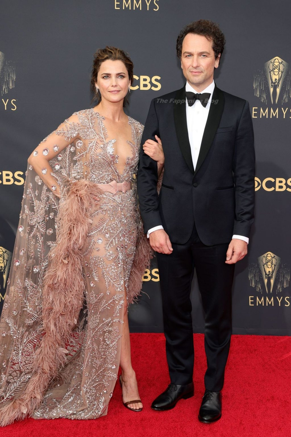 Keri Russell Shows Off Her Tits at the 73rd Primetime Emmy Awards in Los Angeles (14 Photos)