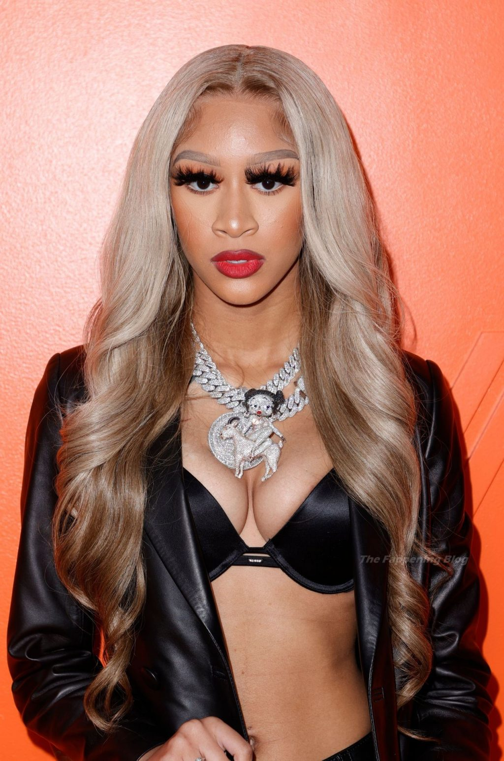 Lakeyah Shows Off Nice Cleavage During a Fashion Show in LA (11 Photos)