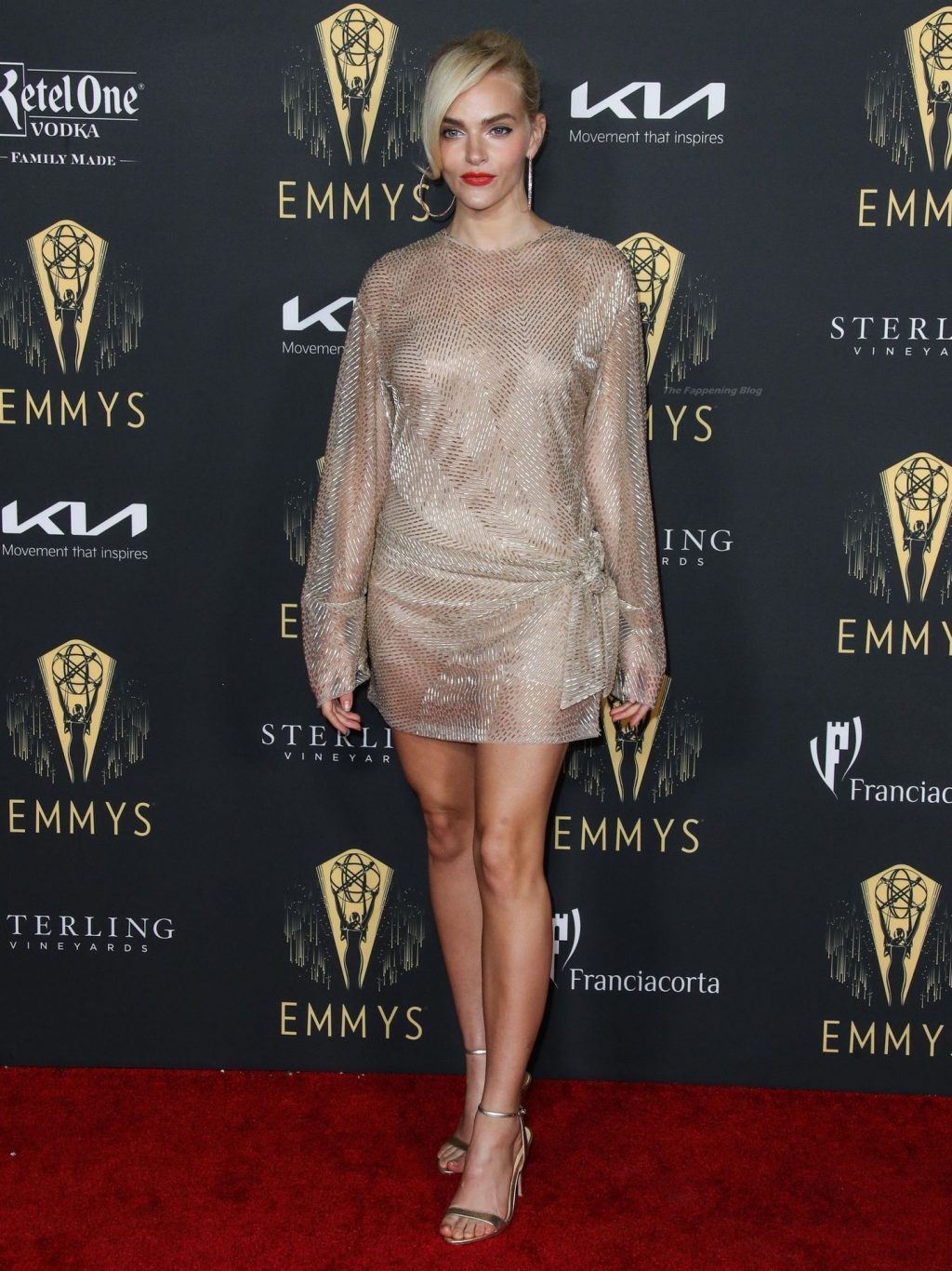 Madeline Brewer Shows Off Her Sexy Legs at the 73rd Emmy Awards Performers Nominee Celebration (39 Photos)