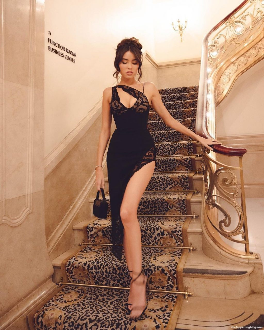 Madison Beer Flaunts Her Sexy Legs And Panties at the 2021 Met Gala After Party in NYC (19 Photos)