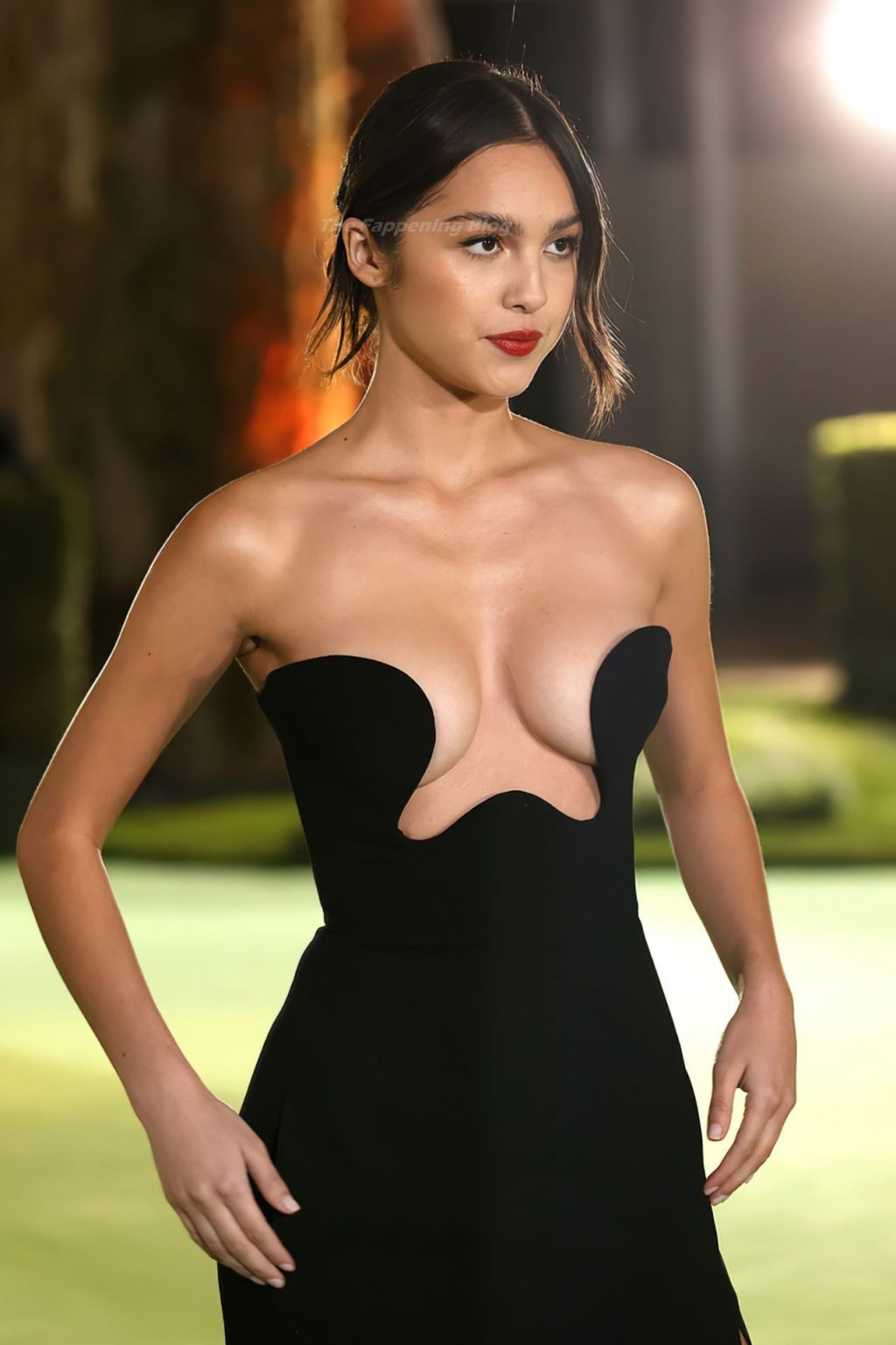 Olivia Rodrigo Shows Off Her Tits at The Academy Museum of Motion Pictures Opening Gala in LA (14 Photos)
