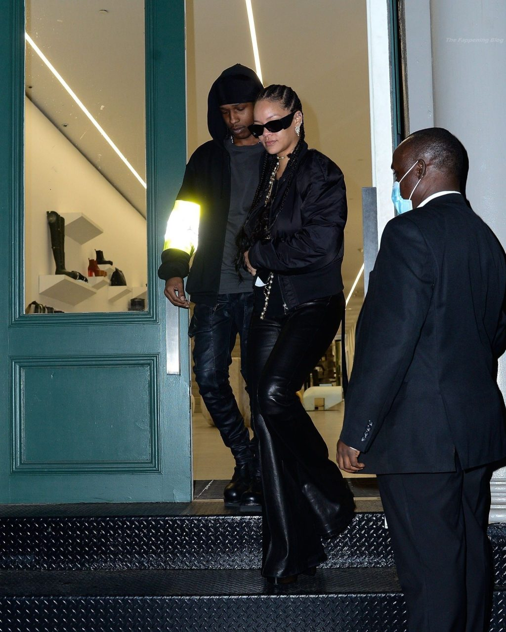 Rihanna & A$AP Rocky are Seen Shopping at Rick Owens in NYC (41 Photos) [Updated]