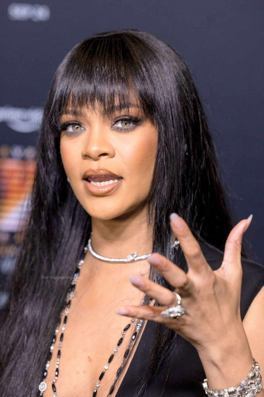 Rihanna Sets Pulses Racing in Sheer Lace Shorts and Stockings at Savage X Fenty Show Premiere in NYC (29 Photos)