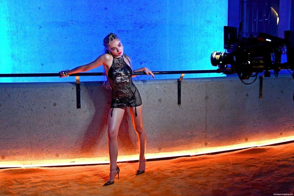 Sabrina Carpenter is Seen at Rihanna's Star-Studded Savage X Fenty Show Vol. 3 (34 Photos)