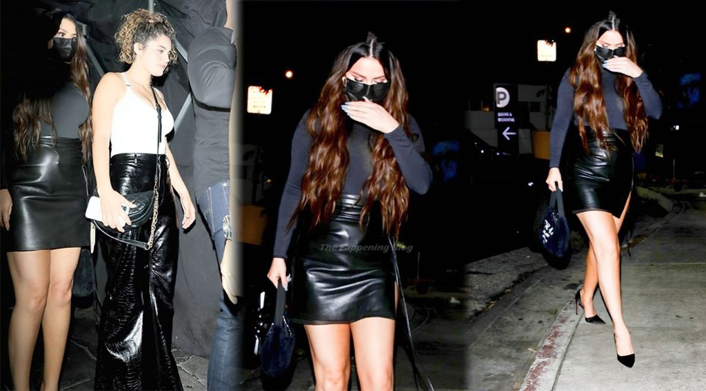 Selena Gomez Makes a Rare Public Appearance at The Nice Guy (15 Photos)