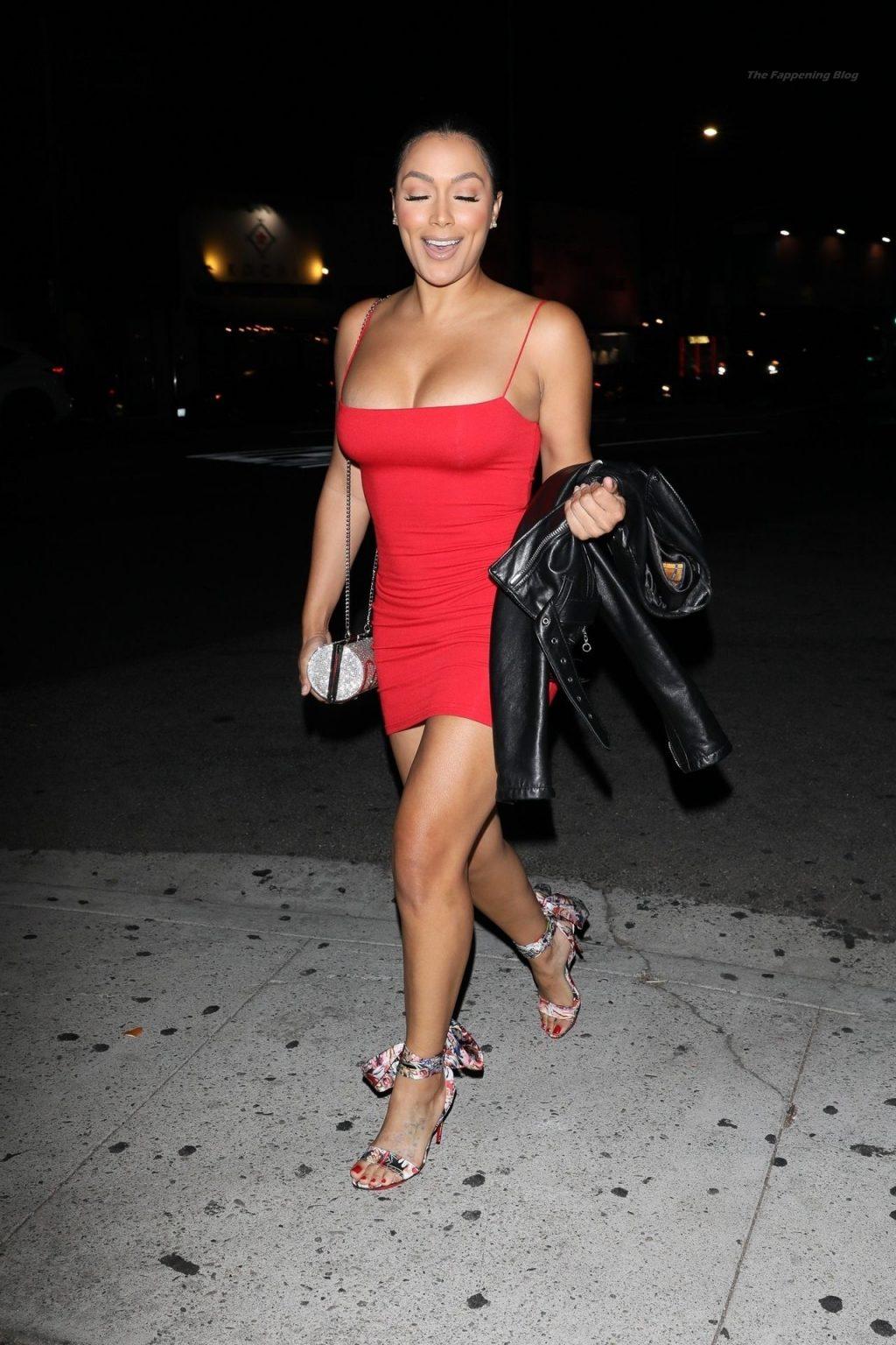 Shantel Jackson Arrives at The Nice Guy to Celebrate Jordyn's Birthday (11 Photos)