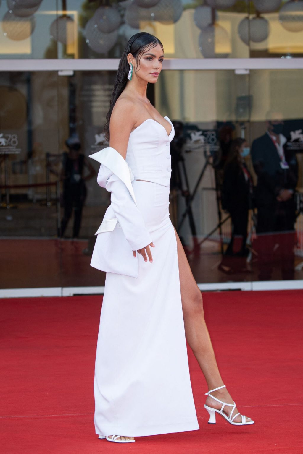 Sofia Resing Looks Hot in White at the Closing Ceremony of the 78th Venice International Film Festival (97 Photos)