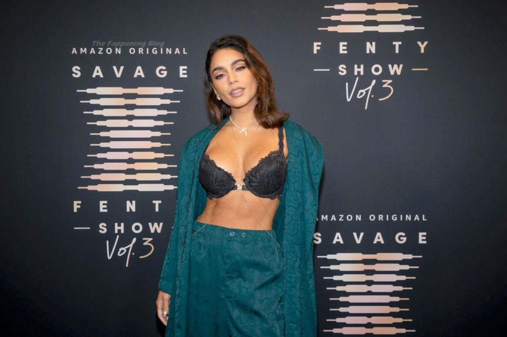 Vanessa Hudgens Flaunts Her Cleavage at Rihanna's Savage X Fenty Show Vol. 3 (35 Photos)
