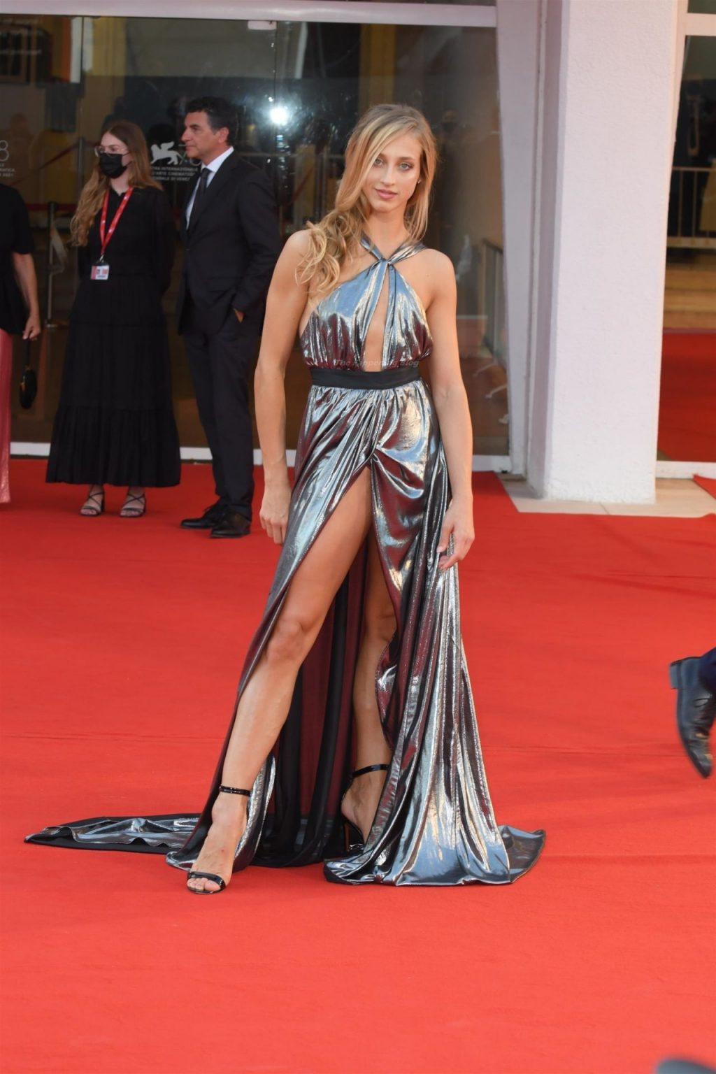 Virna Toppi Shows Off Her Sexy Legs at the 78th Venice Film Festival (22 Photos)