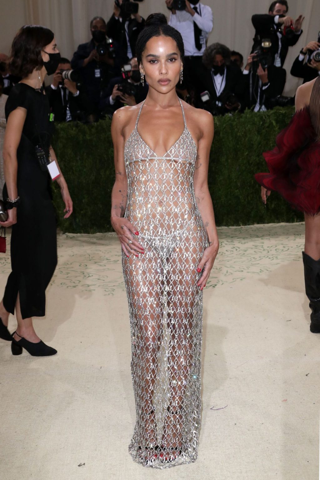 Zoe Kravitz Flaunts Her Ass at the 2021 Met Gala in NYC (48 Photos)