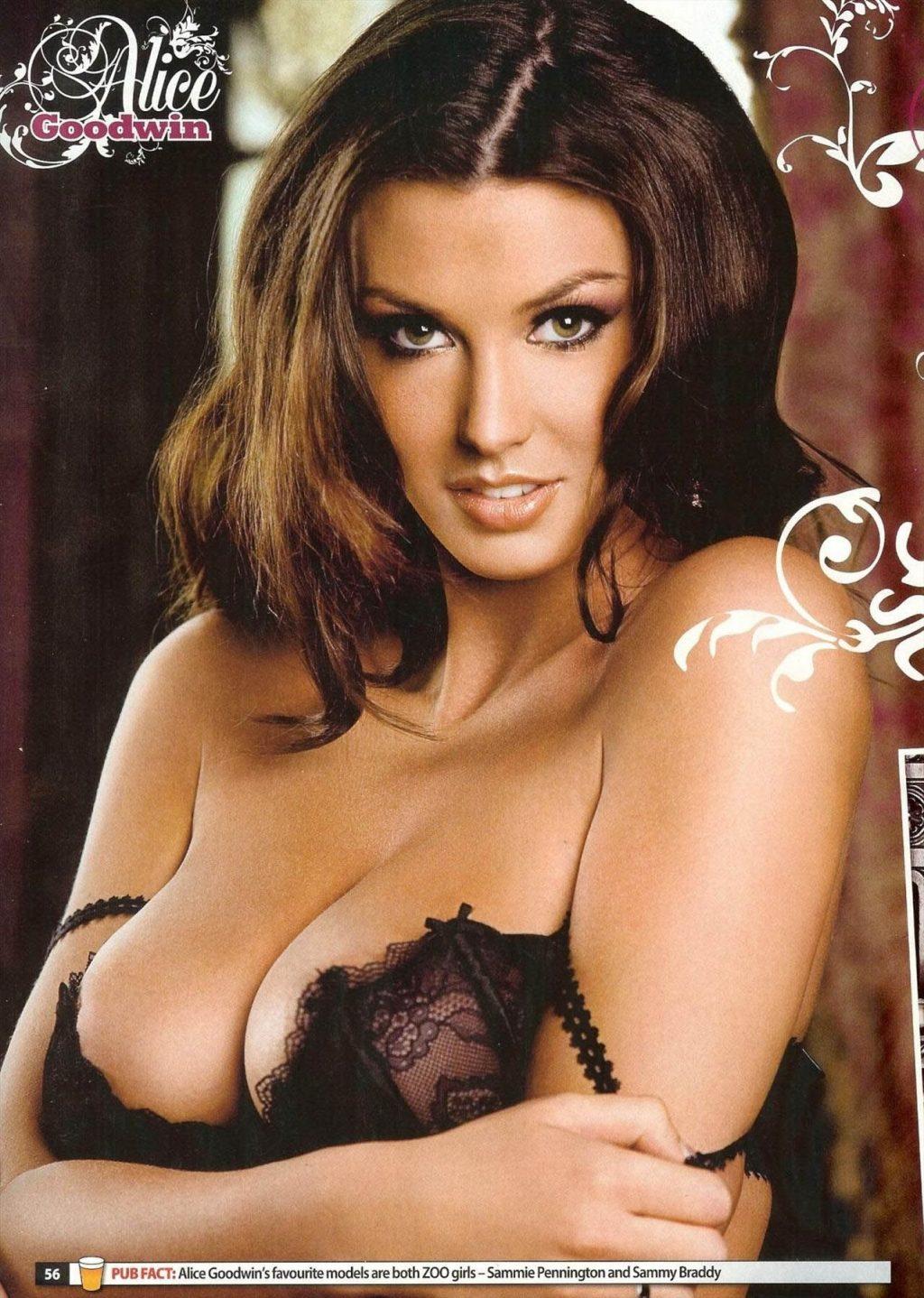 Alice Goodwin Nude & Sexy Collection – Part 1 (150 Photos + Videos)