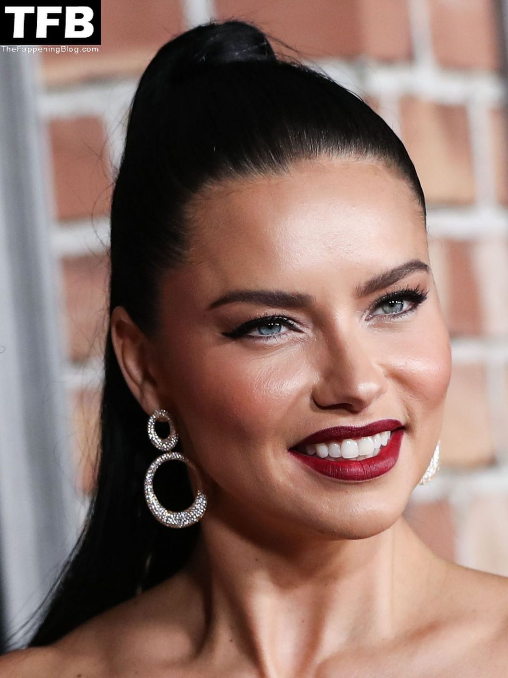 """Adriana Lima Flaunts Her Sexy Legs at the """"Last Night In Soho"""" Premiere in LA (31 Photos)"""
