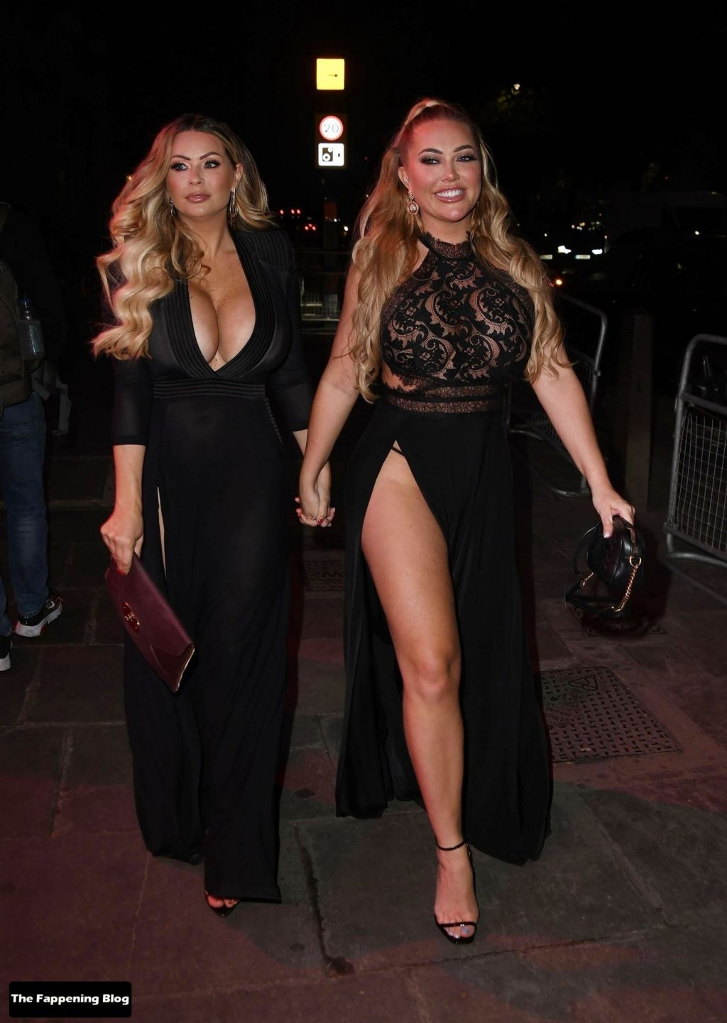 Aisleyne Horgan-Wallace Shows Off Her Butt at the The PINK Event (15 Photos)