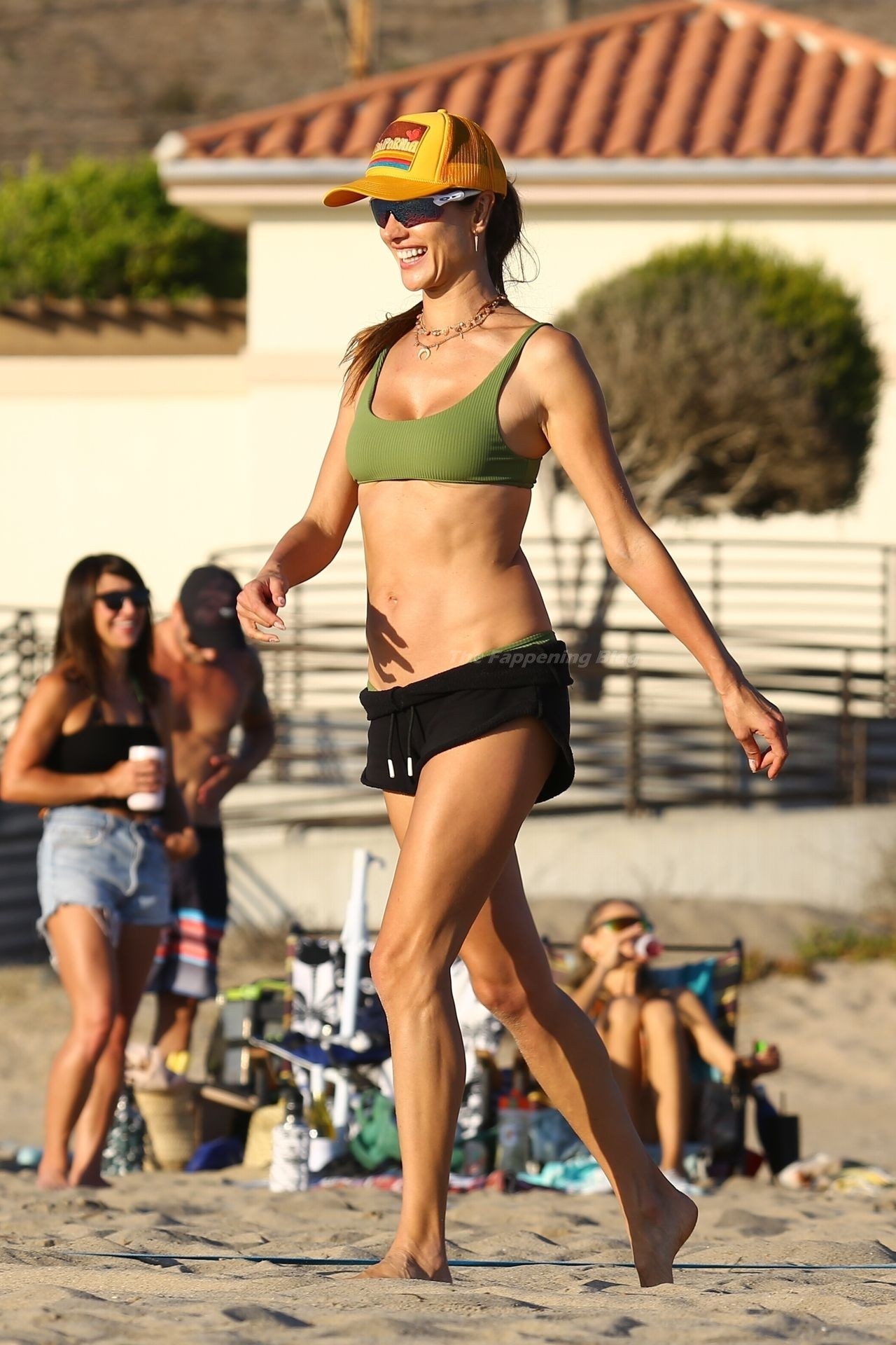 Alessandra Ambrosio Sexy on Beach 114