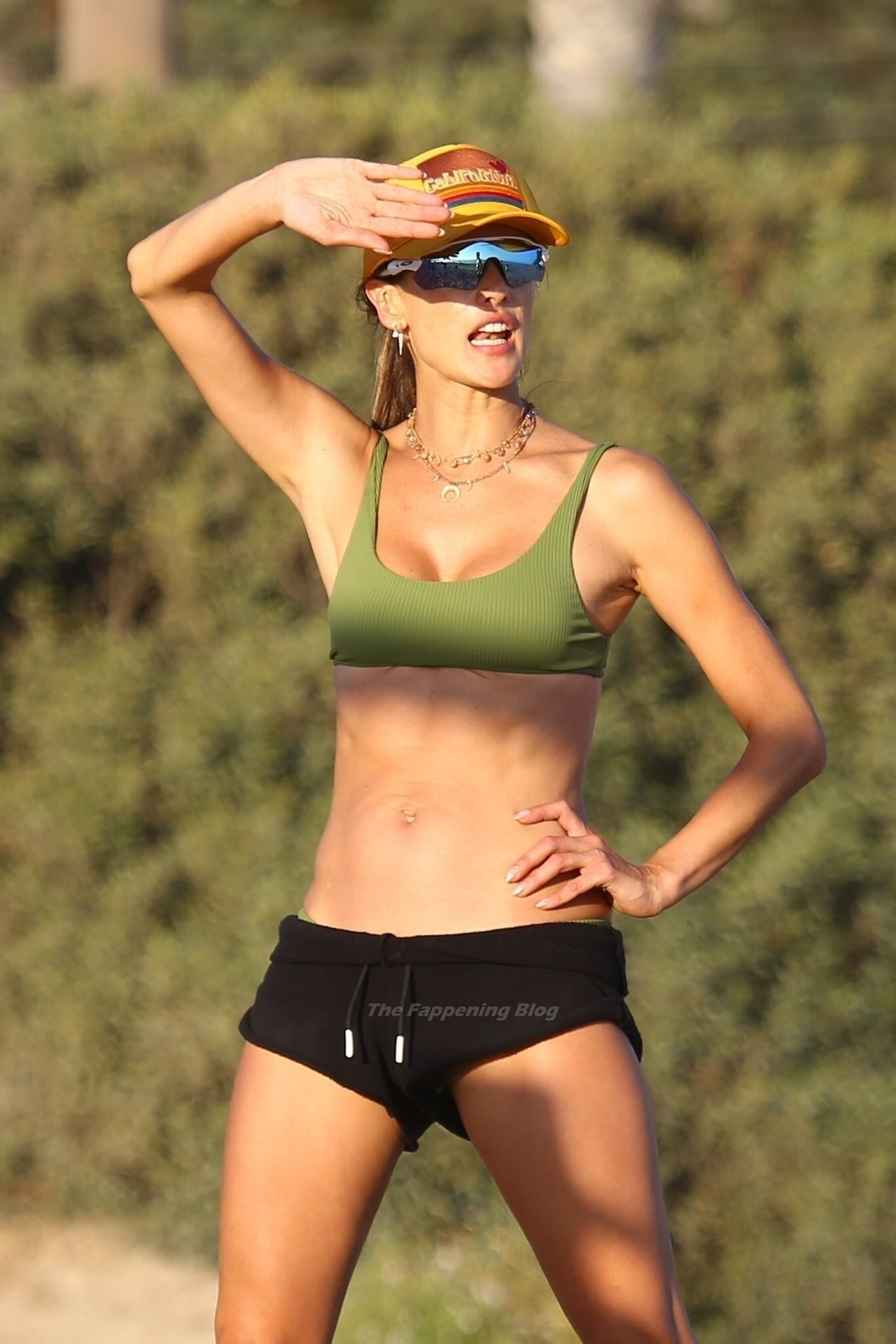 Alessandra Ambrosio Sexy on Beach 116